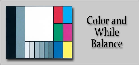 color and white balance