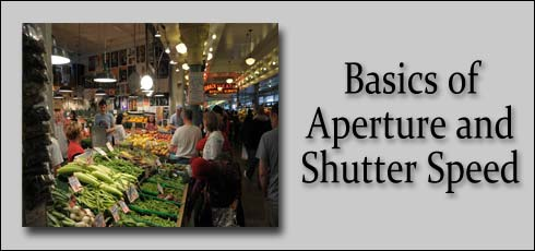 1-3: Basics of Aperture and Shutter Speed
