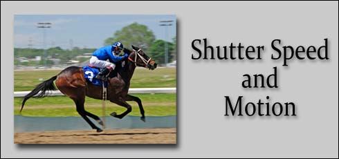 1-5: Shutter Speed and Motion